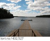 Причал на реке Свирь. Ленинградская область, фото № 432527, снято 5 августа 2008 г. (c) Заноза-Ру / Фотобанк Лори