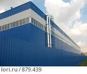 Производственный корпус, фото № 879439, снято 22 мая 2009 г. (c) Заноза-Ру / Фотобанк Лори