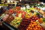 Продуктовый рынок в Тайланде. Фрукты, овощи, морепродукты, фото № 1441847, снято 17 января 2010 г. (c) Сергей Антонов / Фотобанк Лори