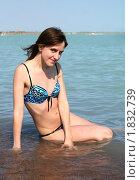 бирюзоволеопардовый купальник