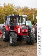 """Трактор """"Беларус"""", фото № 2031159, снято 25 сентября 2010 г. (c) Вадим Орлов / Фотобанк Лори"""