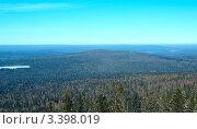 Панорама горы Голая, поселок Уралец, Свердловская область