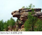 Каменный город. Скала Черепаха. Пермский край