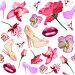 Женские штучки на белом фоне, иллюстрация № 6158987 (c) Наталья Спиридонова / Фотобанк Лори