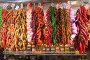 red pepper and garlic in market, фото № 6394007, снято 12 сентября 2013 г. (c) Яков Филимонов / Фотобанк Лори