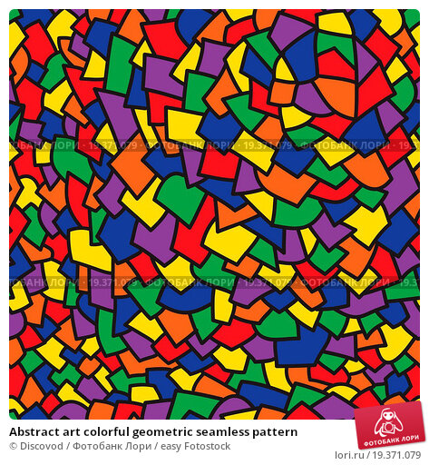 Design patterns art with color