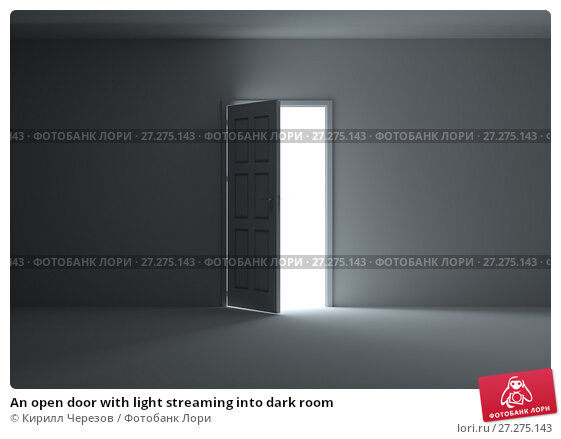 Open door dark