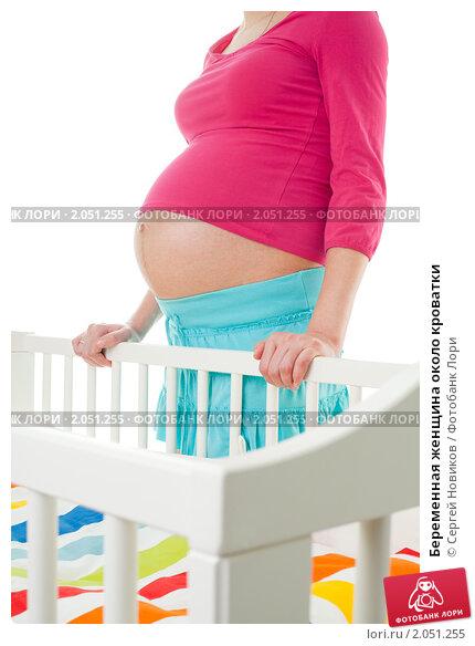 Животик у беременной женщине