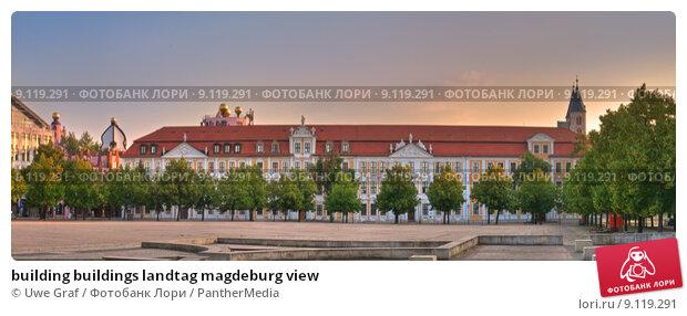 Building buildings landtag magdeburg view, фото 9119291, снято 27 апреля 2017 г (c)