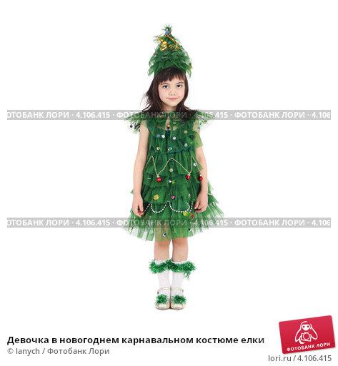Как своими руками сделать костюм новогодней елки