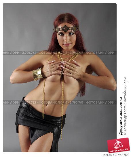 Сексуальная женщина дикой Амазонки. Молодая женщина воин stock photography