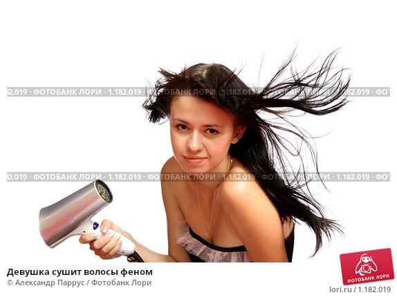 Как сушить волосы в домашних условиях