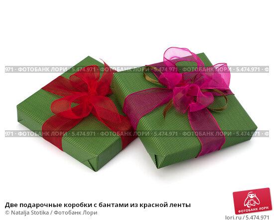 Как сделать подарочную коробку с бантом