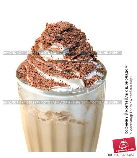 Кофейный коктейль с шоколадом, фото 1608887.