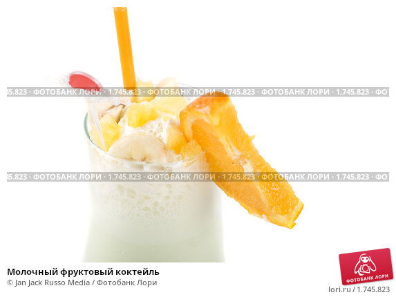 Молочный фруктовый коктейль, фото 1745823, снято 24 марта 2010 г. (c...