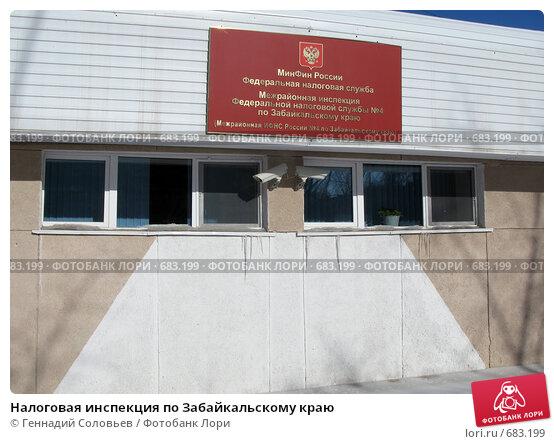 помрачение: сайт налоговой инспекции по забайкальскому краю
