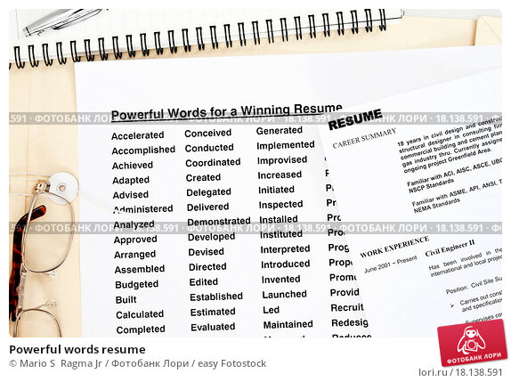 The Best And Worst Words To Use On Your Résumé  Forbes