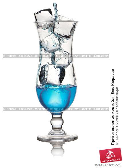 Приготовление коктейля Блю Кюрасао, фото 3098223, снято 3 января 2010 г...