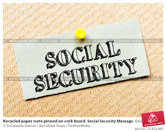 Social security paper