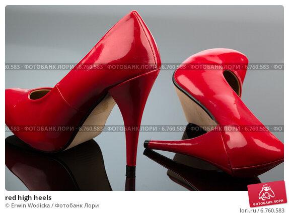 Red heels photo