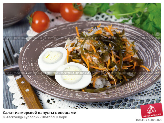 Как приготовит морскую капусту