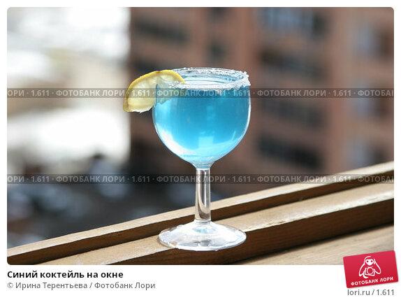Синий коктейль на окне, фото 1611, снято 26 марта 2006 г. (c...