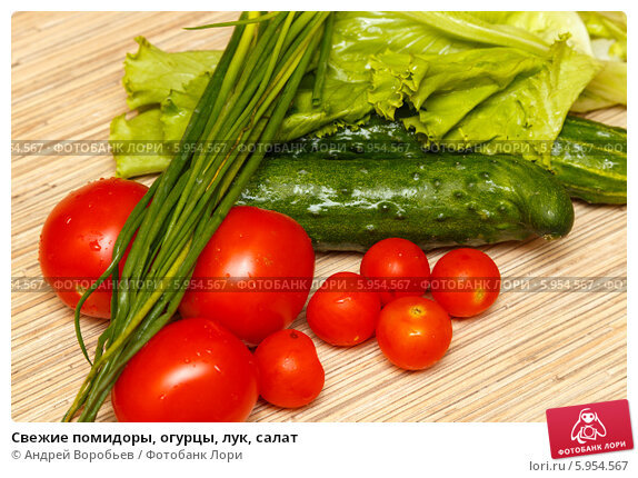 Диета на салате огурцы помидоры