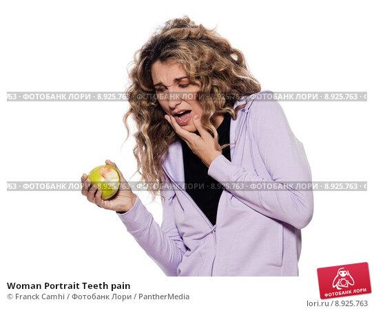 Woman Portrait Teeth pain; фото 8925763, фотограф PantherMedia. Фотобанк Лори - Продажа фотографий, иллюстраций и изображений, в