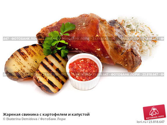 Жаркое из свинины с капустой и картошкой рецепт