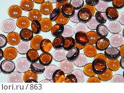 Купить «Стеклянные шарики коричневого и розового цветов», эксклюзивное фото № 863, снято 28 февраля 2006 г. (c) Ирина Терентьева / Фотобанк Лори