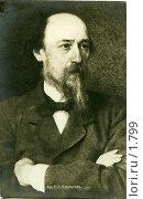 Купить «Н.А.Некрасов (1821—1877)», фото № 1799, снято 14 апреля 2019 г. (c) Retro / Фотобанк Лори
