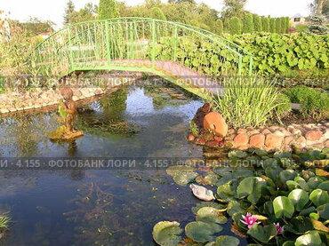 Купить «Мост», эксклюзивное фото № 4155, снято 21 августа 2004 г. (c) Ирина Терентьева / Фотобанк Лори