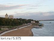 Купить «Хабаровск. Набережная вечером», эксклюзивное фото № 5975, снято 20 сентября 2005 г. (c) Ирина Терентьева / Фотобанк Лори