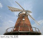 Купить «Ветряная мельница, Англия», фото № 6335, снято 26 июля 2006 г. (c) Tamara Kulikova / Фотобанк Лори