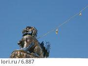 Купить «Лев. Элемент декора дацана», эксклюзивное фото № 6887, снято 26 сентября 2005 г. (c) Ирина Терентьева / Фотобанк Лори