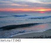 Купить «Море на закате солнца», фото № 7043, снято 18 августа 2018 г. (c) SummeRain / Фотобанк Лори