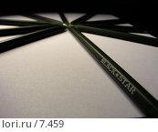 Купить «Звезда из чёрных карандашей», фото № 7459, снято 23 августа 2006 г. (c) Татьяна Васина / Фотобанк Лори
