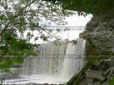 Купить «Водопад Ягала.Эстония», фото № 7507, снято 23 августа 2006 г. (c) Ivan / Фотобанк Лори
