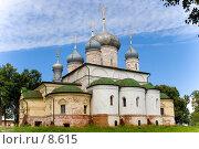 Купить «Собор Федоровского монастыря, Переславль-Залесский», фото № 8615, снято 9 августа 2006 г. (c) Vladimir Fedoroff / Фотобанк Лори