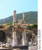 Купить «Храм Домициана, общий вид. Эфес, Турция», фото № 8879, снято 24 сентября 2018 г. (c) Маргарита Лир / Фотобанк Лори