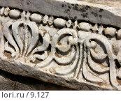 Купить «Барельеф на мраморной плите. Эфес, Турция», фото № 9127, снято 9 июля 2006 г. (c) Маргарита Лир / Фотобанк Лори