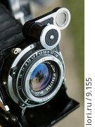 Купить «Объектив старого фотоаппарата», фото № 9155, снято 20 августа 2006 г. (c) Давид Мзареулян / Фотобанк Лори