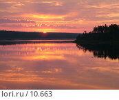 Купить «Самый розовый рассвет», фото № 10663, снято 5 августа 2004 г. (c) Вячеслав Потапов / Фотобанк Лори