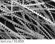 Купить «Обрезки бумаги, монохром, фон», фото № 10859, снято 18 августа 2006 г. (c) Ольга Красавина / Фотобанк Лори
