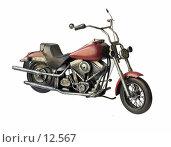 Купить «Ретро-мотоцикл Харлей-Дэвидсон 1984», фото № 12567, снято 6 марта 2006 г. (c) Лисовская Наталья / Фотобанк Лори
