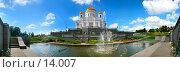 Купить «Храм Христа Спасителя панорама 180 градусов», фото № 14007, снято 20 апреля 2018 г. (c) Алексей Хромушин / Фотобанк Лори