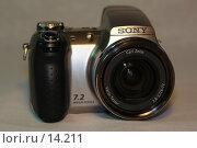 Купить «Фотоаппарат Sony DCH-5», фото № 14211, снято 5 декабря 2006 г. (c) Roki / Фотобанк Лори
