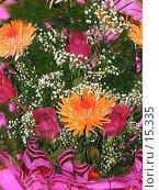 Купить «Яркий праздничный букет», фото № 15335, снято 12 декабря 2006 г. (c) Комиссарова Ольга / Фотобанк Лори