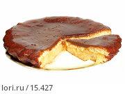 Купить «Шоколадный торт на блюде», фото № 15427, снято 22 февраля 2019 г. (c) Угоренков Александр / Фотобанк Лори