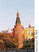 Купить «Москва - башня Кремля», фото № 15763, снято 19 августа 2018 г. (c) Андреева Евгения / Фотобанк Лори